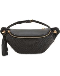 Tory Burch - Embossed Nappa Leather Belt Bag - Lyst