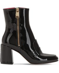 HAVVA - 75mm Xo Patent Leather Boots - Lyst