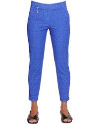 Incotex - Kayle Cotton Jacquard Trousers - Lyst
