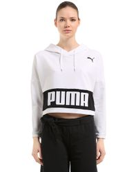 Puma Select - Urban Sports Cropped Sweatshirt - Lyst