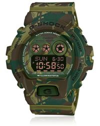 G-Shock - Camouflage Digital Watch - Lyst