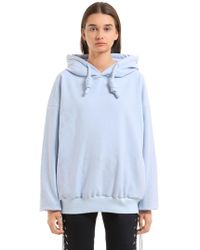 Angel Chen - Oversized Hooded Sweatshirt - Lyst