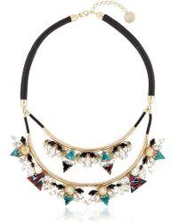 Anton Heunis - Art Deco Expression Necklace - Lyst