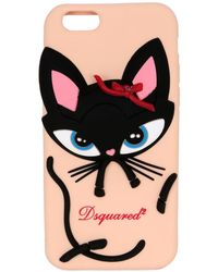 DSquared² - 3d Cat Silicone Iphone 6 Case - Lyst