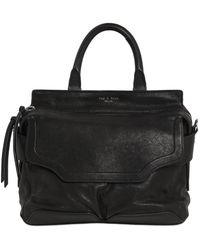 Rag & Bone - Small Pilot Leather Top Handle Bag - Lyst