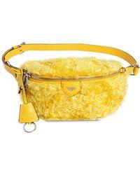Moschino - Mohair Belt Pack - Lyst