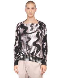 Vivienne Westwood - Psychedelic Printed Cotton Sweatshirt - Lyst