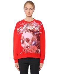 Alexander McQueen - Oversized Dutch Master Cotton Sweatshirt - Lyst
