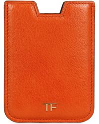 Tom Ford - Leather I-phone Case - Lyst