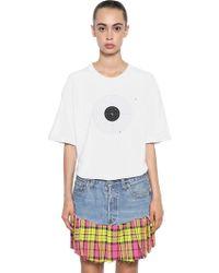 Vetements - Target Print Cotton Jersey T-shirt - Lyst