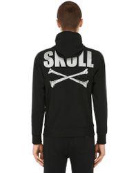 Hydrogen - Skull Bones Sweatshirt Hoodie - Lyst