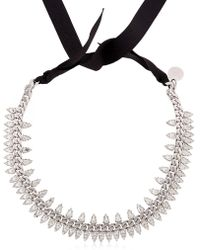 Ellen Conde - Brilliant Jewellery Spike Crystal Necklace - Lyst