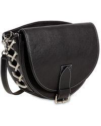JW Anderson - Saddle Leather Shoulder Bag - Lyst