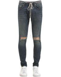 Represent - Jeans In Denim Destroyed - Lyst