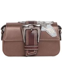 Rochas   Small Sequined Satin Shoulder Bag   Lyst