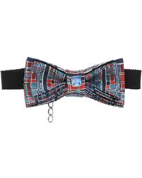 Christian Correnti - Printed Silk Crepe De Chine Bow Tie - Lyst