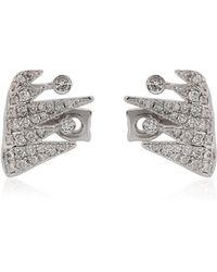 Colette - Galaxia Shooting Star Cuff Earrings - Lyst
