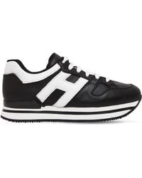 Hogan - 50mm H222 Active Leather Sneakers - Lyst