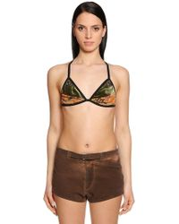 Etro - Patchwork Bra Top - Lyst