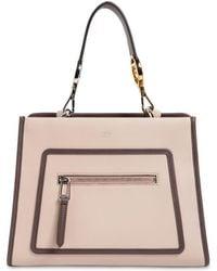 Fendi - Small Runaway Leather Tote Bag - Lyst