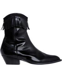 Philosophy Di Lorenzo Serafini - 40mm Brushed Leather Fringe Boots - Lyst