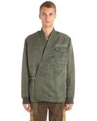 Maharishi - Ma65 Nylon Kimono Jacket - Lyst