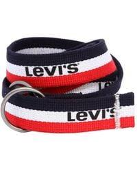 Levi's - Logo Webbing Belt - Lyst