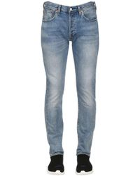 Levi's - 501 Skinny Washed Denim Jeans - Lyst