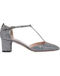 SJP by Sarah Jessica Parker - 50mm Pet Glitter Fabric Court Shoes - Lyst