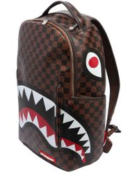 Sprayground | Shark In Paris Faux Leather Backpack | Lyst