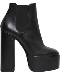 Laurence Dacade - Laurence Suede Platform Ankle Boots - Lyst