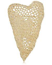 Maison Margiela - Heart Crochet Pin - Lyst