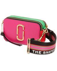 Marc Jacobs - Snapshot Leather Shoulder Bag - Lyst