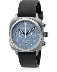 """Briston - Reloj Chrono """"clubmaster"""" De Acero - Lyst"""
