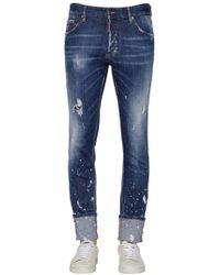 """DSquared² - """"16.5cm Jeans Aus Denim """"""""cool Guy"""""""""""" - Lyst"""