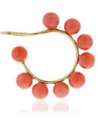 Saskia Diez - Holiday Coral Mono Earcuff - Lyst