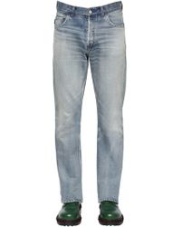 Balenciaga - Jeans Bootcut De Denim De Algodón - Lyst