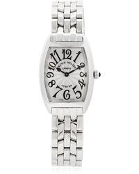 Franck Muller - Curvex Quartz Watch - Lyst