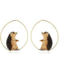 Nach - Hedgehog Earrings - Lyst
