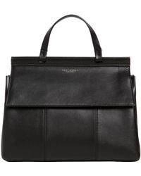 Tory Burch - Block T Leather Top Handle Bag - Lyst