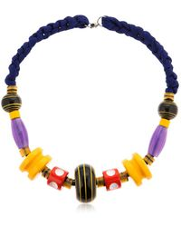 Missoni - Graphic Modernist Resin Long Necklace - Lyst