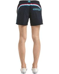 "Sundek - 14"" Nylon Swim Shorts - Lyst"