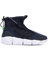 Nike - Air Footscape Utility Mid Top Trainers - Lyst