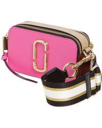 Marc Jacobs - Snapshot Saffiano Leather Shoulder Bag - Lyst