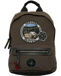 Lanvin - Backpack With Decorative Patches - Lyst