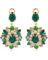 Shourouk - Dianna Crystal Earrings - Lyst