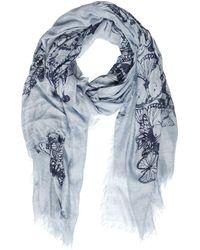 Destin Surl - Butterflies Print Modal & Cashmere Scarf - Lyst