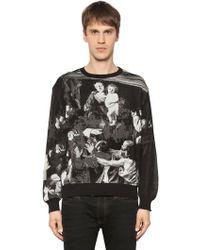 Off-White c/o Virgil Abloh - Caravaggio Cotton Blend Jacquard Sweater - Lyst