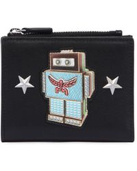 MCM | Mini Roboter Leather Wallet W/ Zip | Lyst