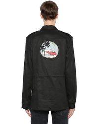 Saint Laurent - Waiting For Sunset Cotton Jacket - Lyst